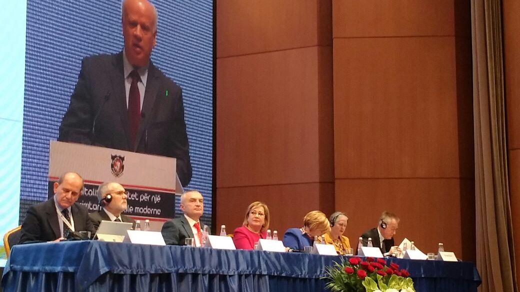 Kongresi i notariatit shqiptar beri jehone pozitive dhe ne Unionin Nderkombetar te Notereve